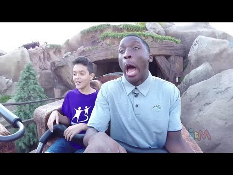 Seven Dwarfs Mine Train grand opening & official first ride at Walt Disney World