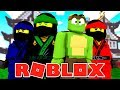 ROBLOX - JOINING THE NINJAGO DOJO! (Ninja Tycoon)