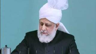 Friday Sermon: 19th November 2010 - Part 4 (Urdu)