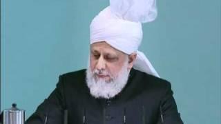 Friday Sermon: 19th November 2010 - Part 4 (Urdu)