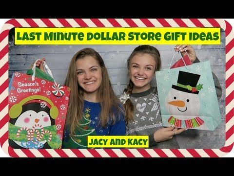 Last Minute Dollar Store Gift Ideas Jacy And Kacy