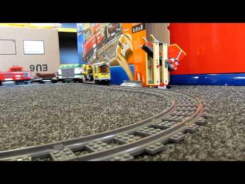 LEGO 3677 Freight Train The Movie