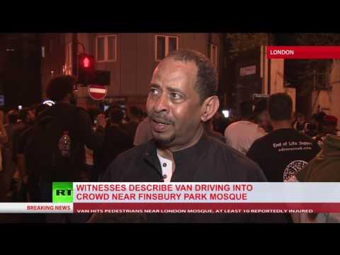 'He was raising his hand in victory' – Eyewitness on Finsbury Park van attacker