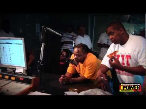 The Hit Squad Interview - Part II @ iPower 92.1 FM / Sean Anthony - 7/14/12