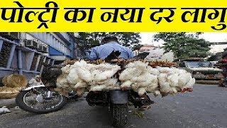 आज से पोल्ट्री का नया दर लागु | poultry fresh boirler rate in diffrent murga mandi