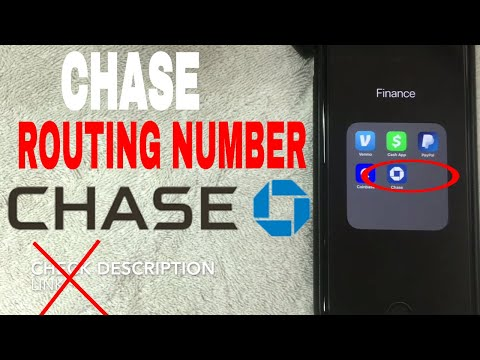 ✅  Chase Bank Routing Number - Where To Find It 🔴