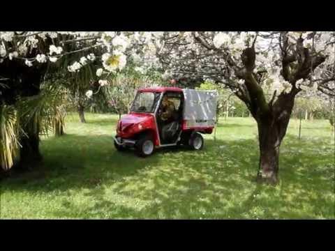 Electric utility vehicles for park maintenance