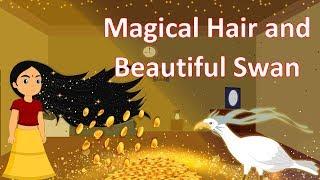 Magical Hair And Beautiful Swan   English Cartoon for Childrens   Mahacartoon Tv English