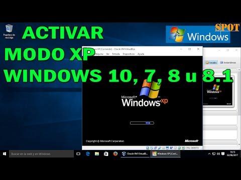 Cómo Activar El Modo XP En Windows 10, 7, 8 U 8.1
