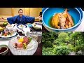 LUXURY JAPANESE FOOD - Multi-course Kaiseki at Traditional Onsen Hotel in Hakone, Japan!