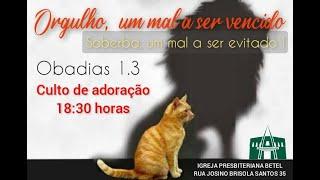 Culto de Domingo 04/07/2021 - Pb. Claudinei Torres  #BetelnoLar #BetelnoLar
