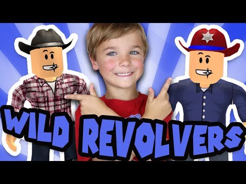 DAD VS SON in ROBLOX WILD REVOLVERS! | COWBOYS VS SHERIFFS BATTLEGROUNDS