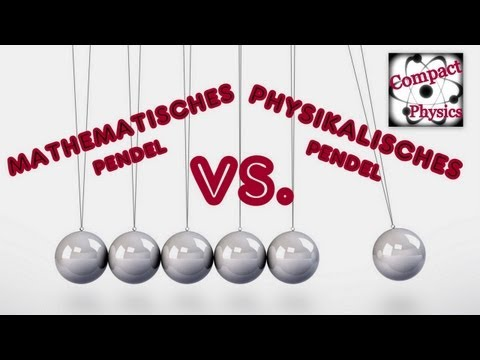 Mathematisches PENDEL vs. Physikalisches PENDEL (Ad_Math#12) [Compact Physics]