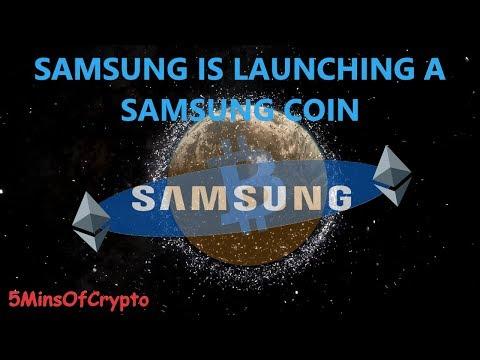 Samsung Coin A Competitor For Bitcoin? - EP16: FiveMinutesOfCrypto