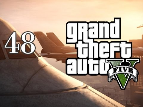 Grand Theft Auto V - Walkthrough Let's Play Gameplay - Part 48 - Fighter Jets & Tennis