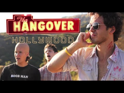 The Hangover Hollywood Hangover Parody