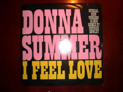 Donna Summer I Feel Love mega mix 15:45 remixed by  Patrick Cowley