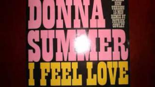 Donna Summer I Feel Love mega mix 15:45 remixed by  Patrick Cowley