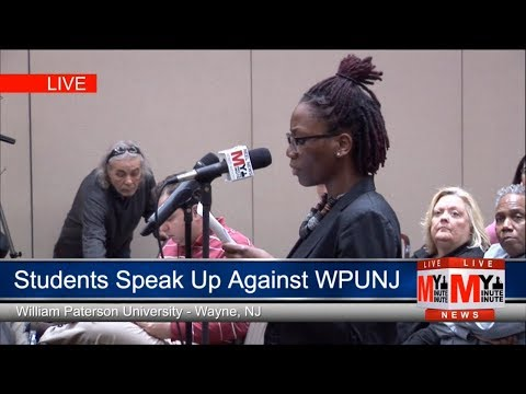 Angered Students speak out against WPUNJ at Town Hall - My Minute Minute streaming vf