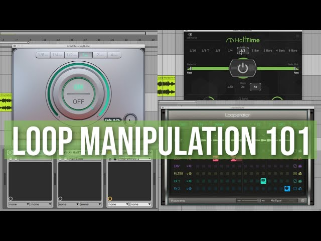 Sample & Loop Manipulation Techniques (Day 6 of 7 Beat Making Challenge)