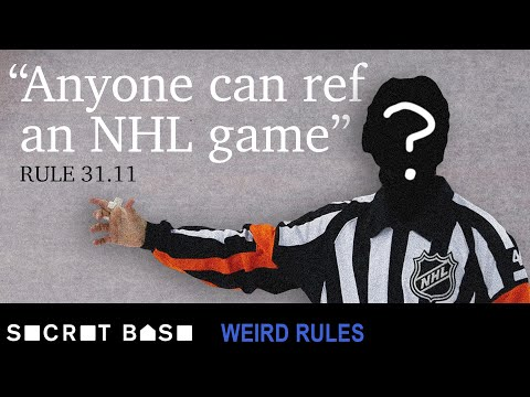 Why two NHL players had to ref their own game | Weird Rules Ep 1