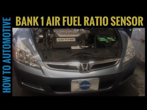 How to Replace the Bank 1 Air Fuel Ratio Sensor on a 2003-2007 Honda Accord