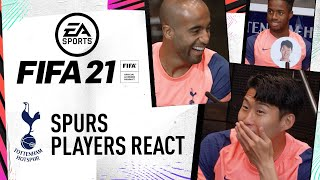 """That's no respect"" Spurs Players Predict Their FIFA 21 Ratings!"
