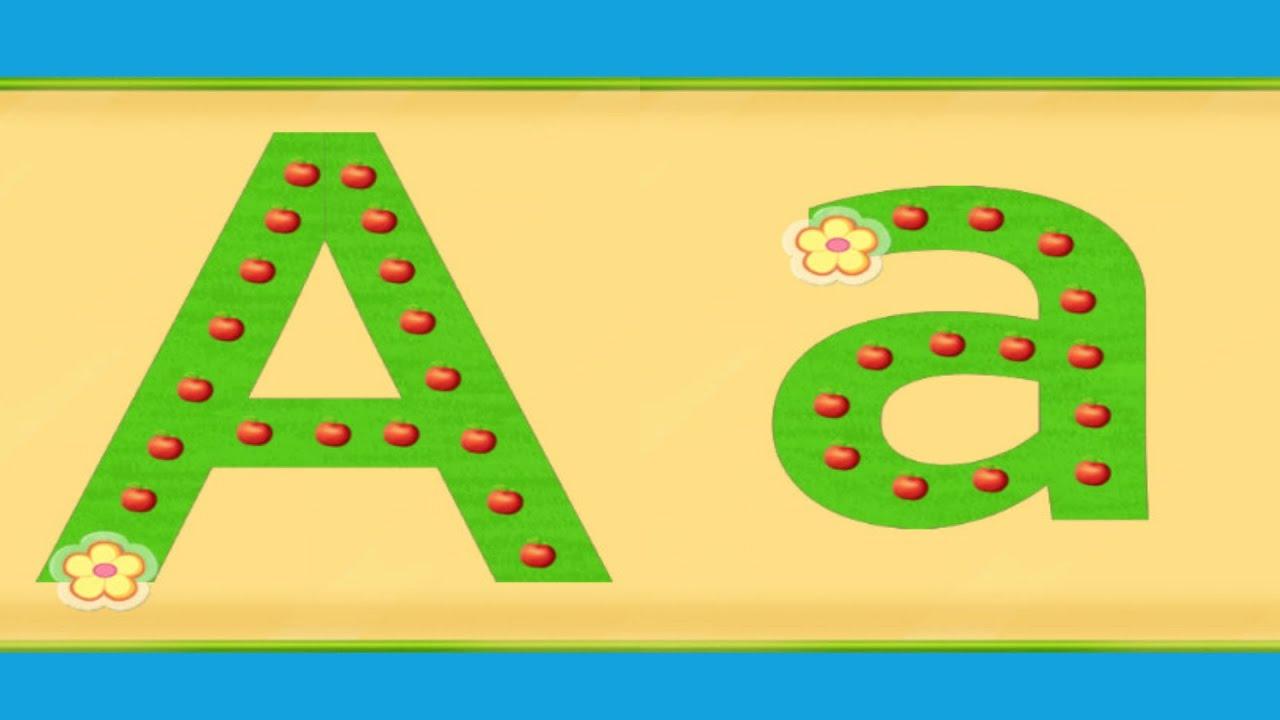 Preschool Activities For Kids - Learn English Alphabet - YouTube