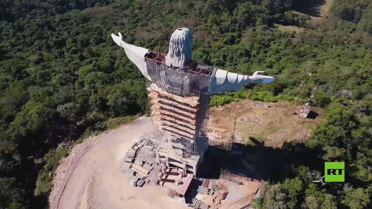 البرازيل تشيد تمثالا جديدا هائلا للسيد المسيح الحامي