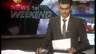News 1st Prime time 8PM  Shakthi TV news 27th June 2015