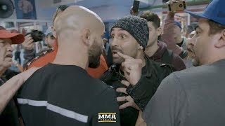 Paulie Malignaggi, Artem Lobov Get in Physical Altercation at Bare Knuckle FC Media Day