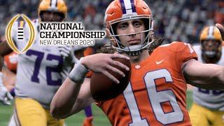 Clemson Vs Lsu Full Game | 2020 National Championship | College Football Live 1/13/2020  Madden