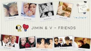 【韓繁中字】BTS JIMIN u0026 V (방탄소년단 - 지민 u0026 뷔) - Friends (친구)