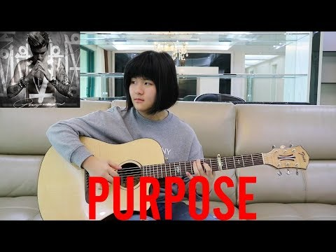 Purpose - Justin Bieber (fingerstyle guitar cover) Free Tabs
