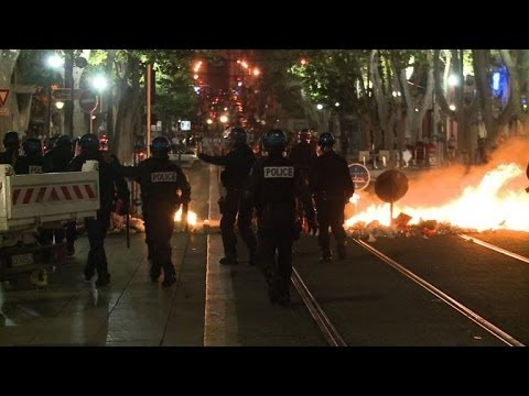 France arrests dozens after unrest over Algeria qualification