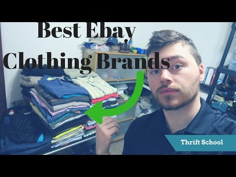 The Absolute Best Brands to Sell on Ebay | Say Goodbye to De