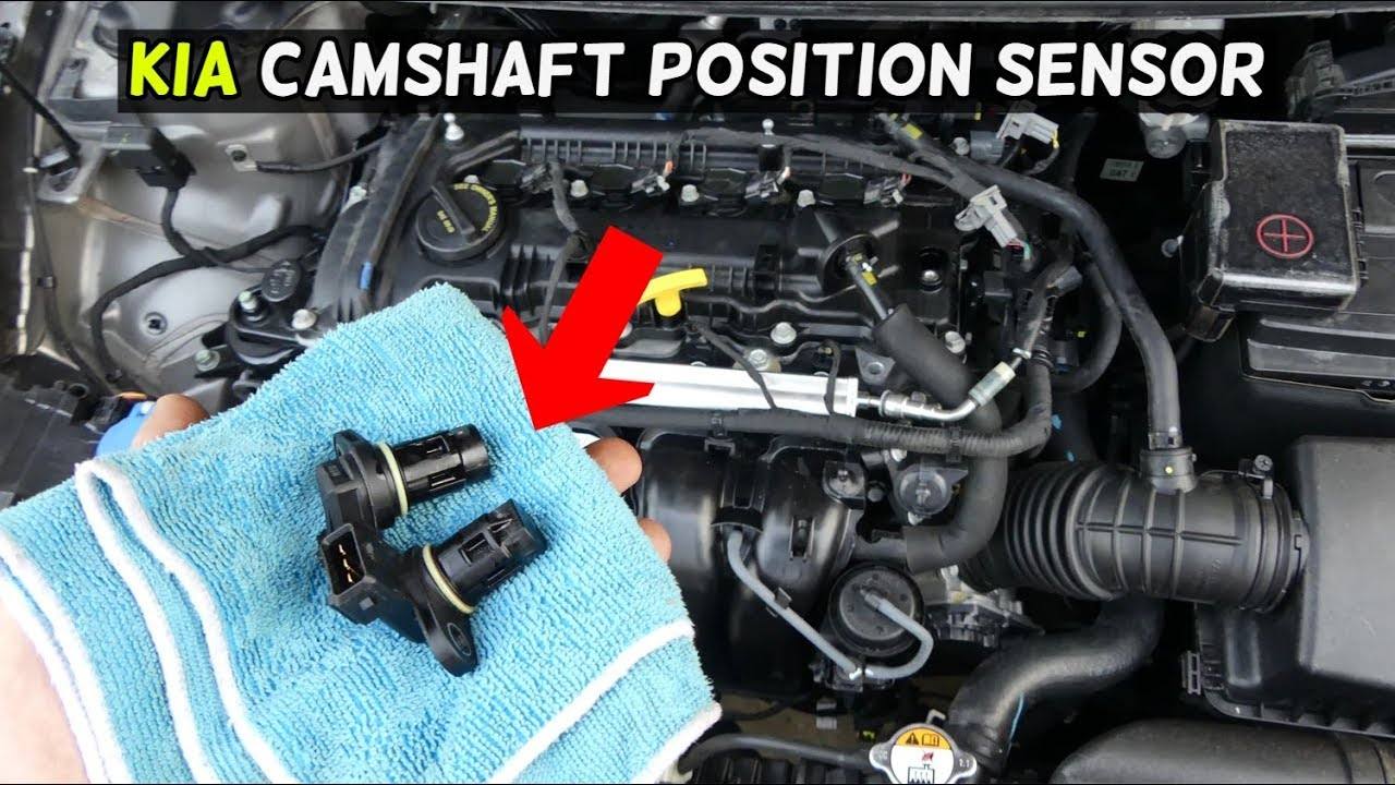 how to replace camshaft position sensor on kia forte soul optima [ 1280 x 720 Pixel ]
