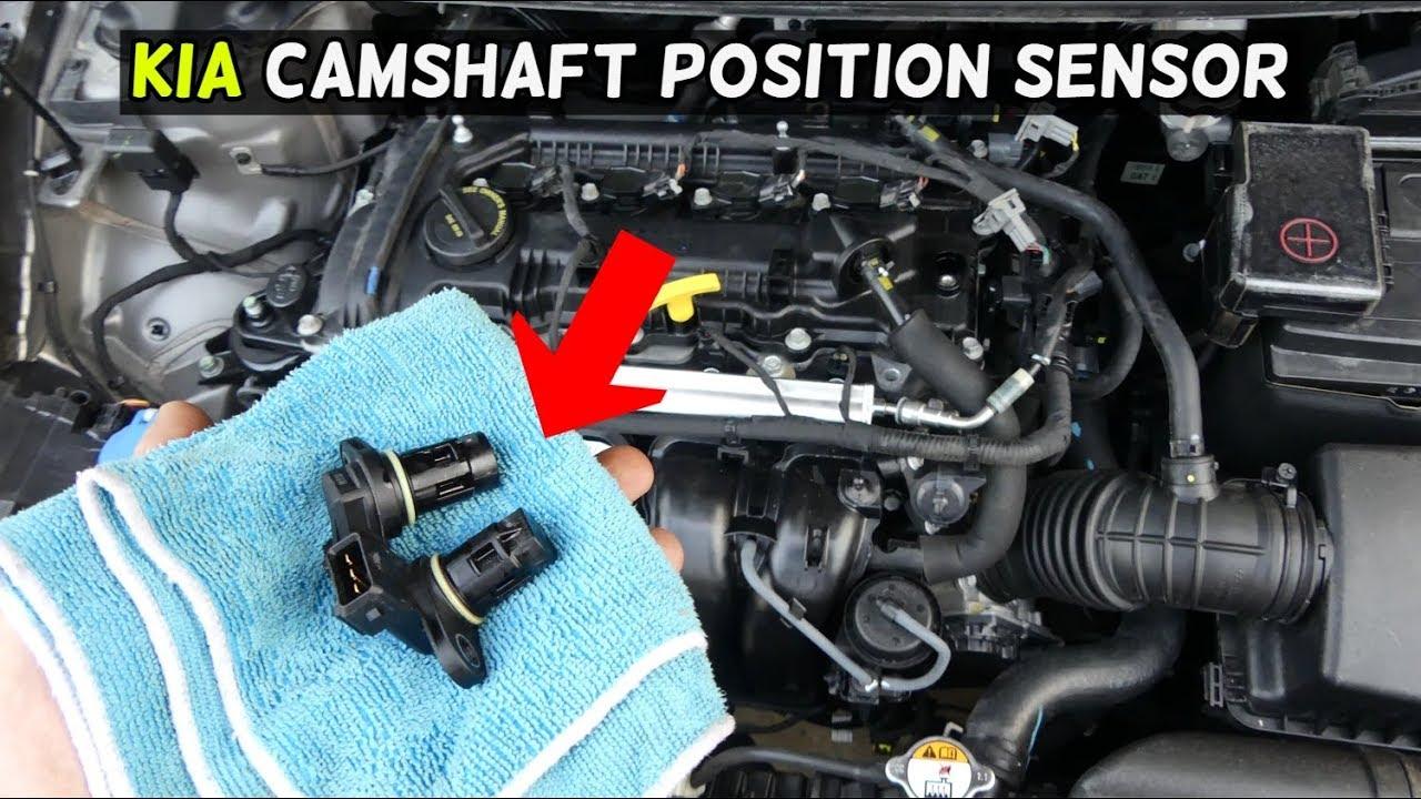 medium resolution of how to replace camshaft position sensor on kia forte soul optima