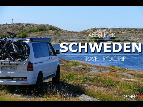 schweden mit dem wohnmobil vw t5 t6 camperx youtube. Black Bedroom Furniture Sets. Home Design Ideas