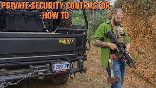 How To: Private Security Contractor, Mr. Tambone CEO Bone Tactical