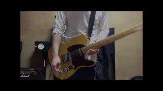 マキシマムザホルモンのルイジアナ・ボブをギターで弾きました。 腕痛い.