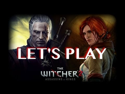 "LET'S PLAY: THE WITCHER 2 PT2: ""The carpet matches the drapes!"""