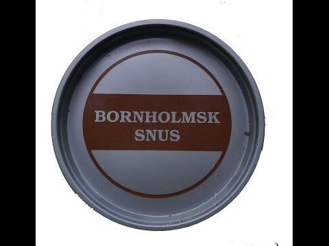 Bornholmsk Snus von Scandinavian Tobacco group I Snusfreak