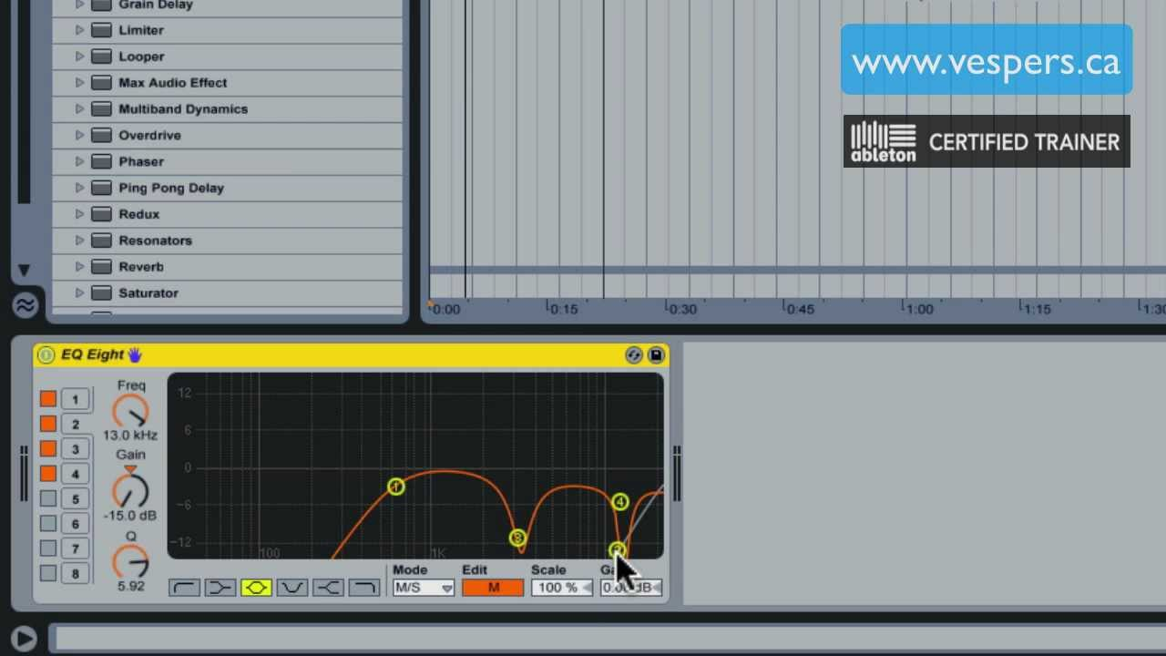 How to Make Acapellas for Remixes in Ableton Live 8: HD « Recording
