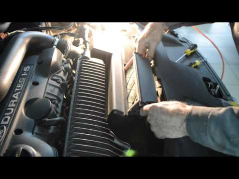 Замена воздушного фильтра часть 2 на Форд Мондео Автосервис «Скорпион» г Астрахань ул Ширяева 8Б