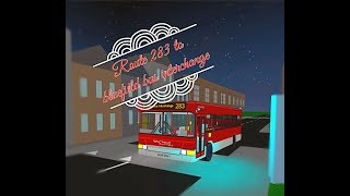 roblox BLUEFIELD bus simulator | valley transport plaxton pointer 2 | route 283 to BLUEFIELD