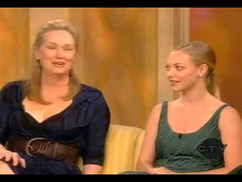 Meryl Streep and Amanda Seyfried on The View (2/2)