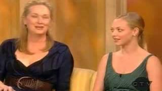 Meryl Streep & Amanda Seyfriedアーティスト写真