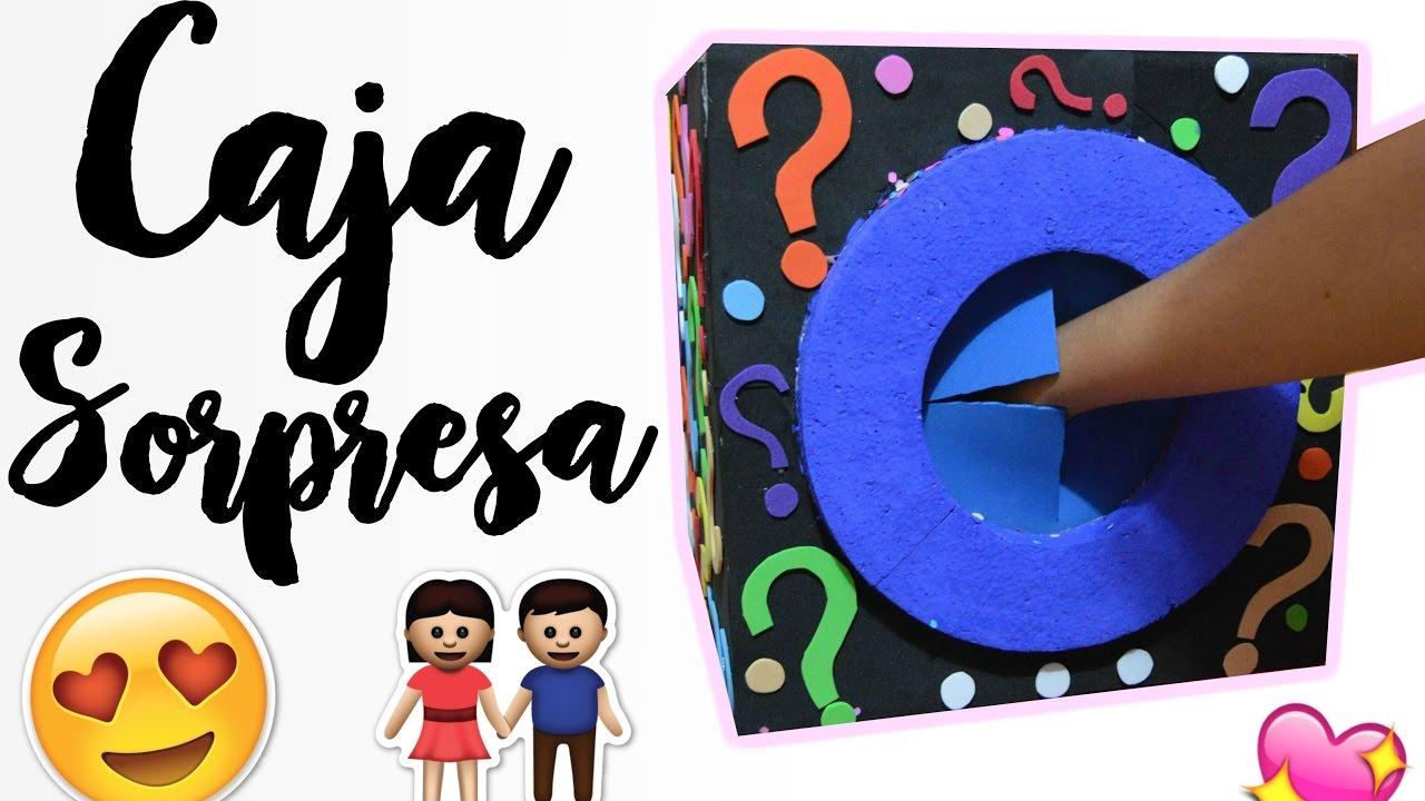 Regalo para tu novio caja sorpresa youtube for Roba usata regalo