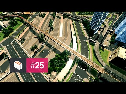 Let's Design Cities Skylines — EP 25 — Servicing Downtown with Trams